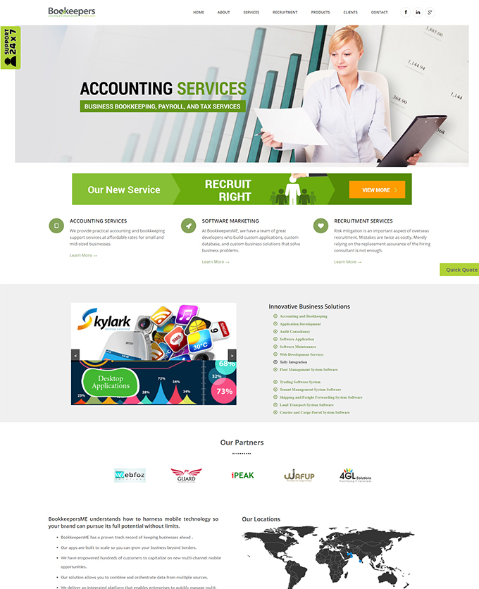 Bookkeepers Middle East